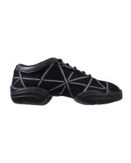Capezio Black Silver Sneakers