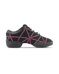Capezio Black and Pink Sneaker