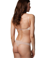 Capezio Ladies Nude Low-Rise Thong Back