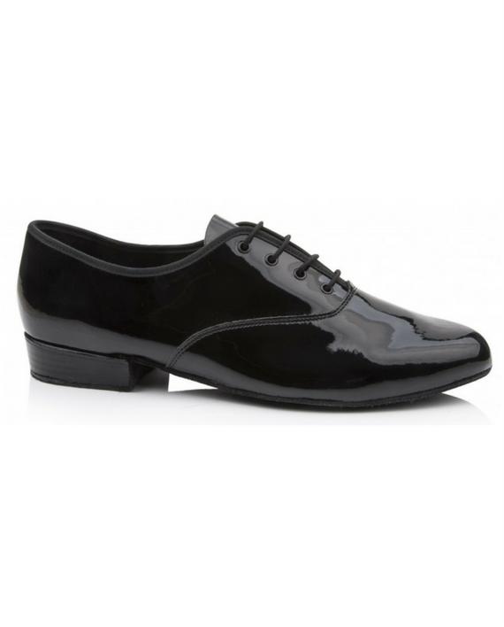 Childrens Black Patent Tap Shoes
