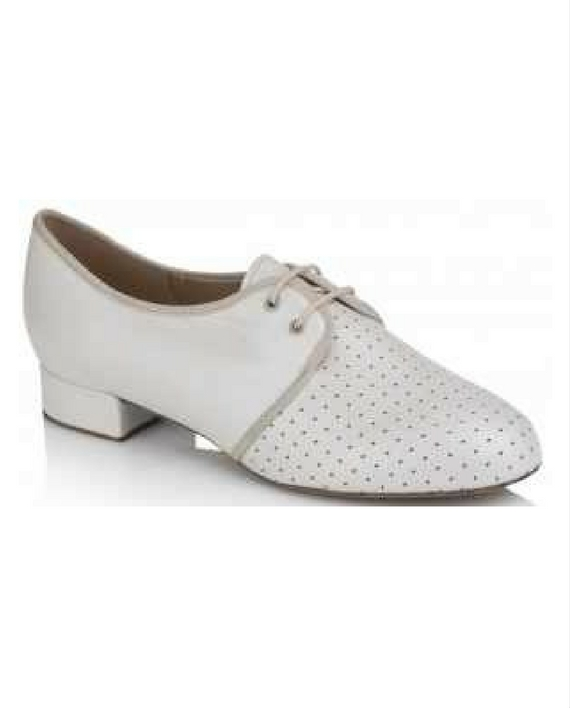 ecdf44c3019 Freed Sicily Suede Sole Ivory Leather Ladies Teaching & Practice Ballroom  Dance Shoes