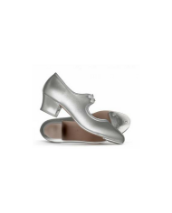 Katz Silver Cuban Heel Danceshoe