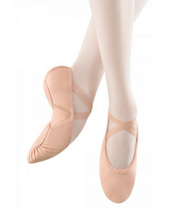 Bloch Prolite II Hybrid Ladies Leather Pink Split Sole Ballet Shoe
