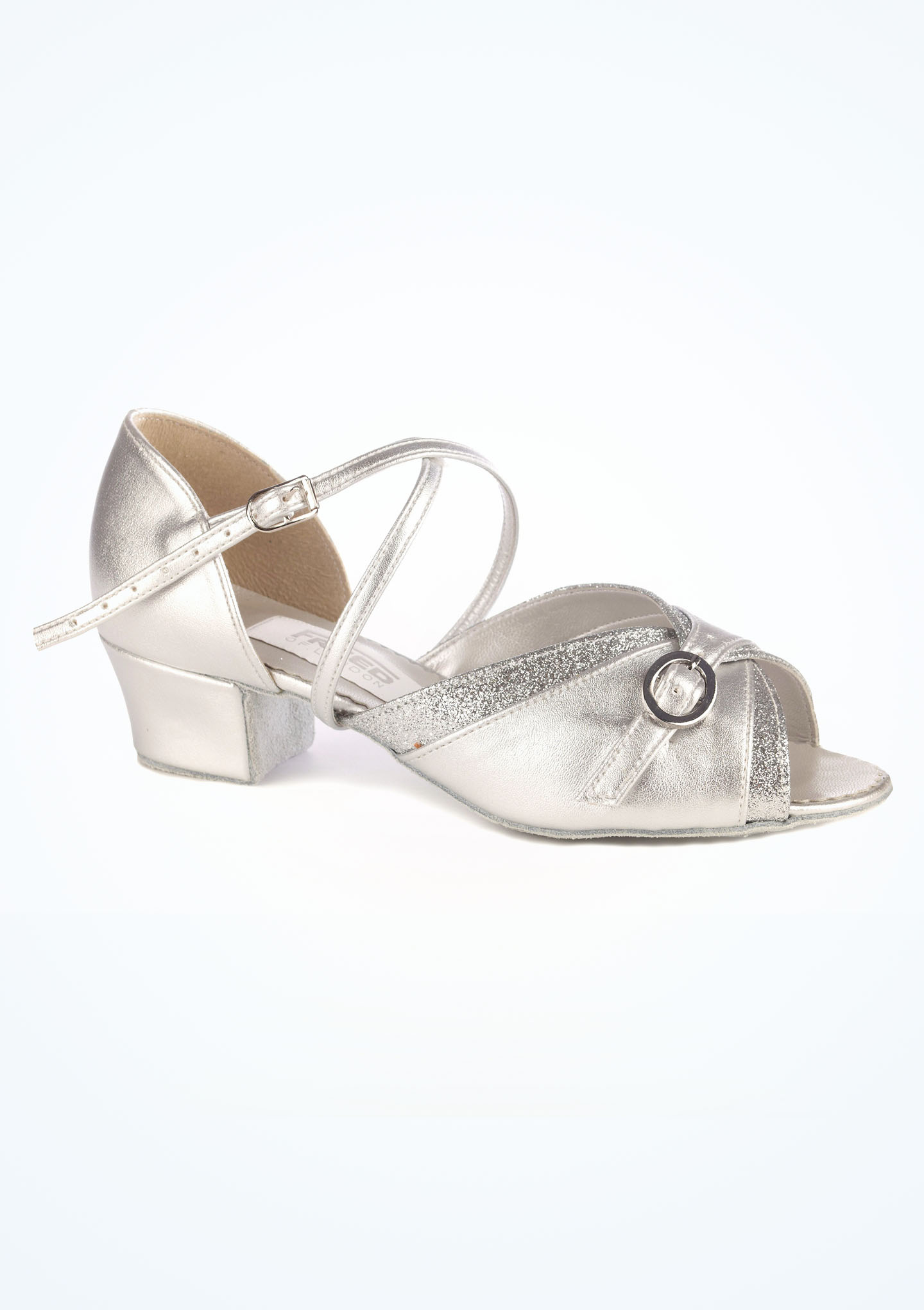 Freed Lucy Suede Sole Silver PU Girls