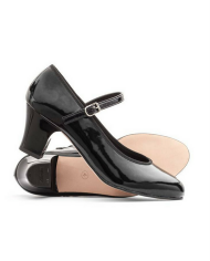 Katz Showtime 2 Inches Heel Ladies Synthetic Patent Leather Character Shoes