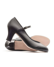 Katz Showtime 2.5 Heel Ladies Synthetic Leather Black Character Shoes