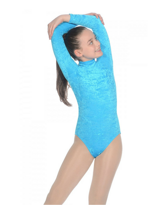 a84e82f2d Roch Valley Jane Girls Velour Lycra Long Sleeved Leotard