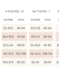 Bloch girls size guide